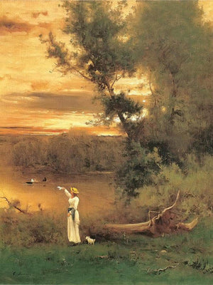 Shades Of Evening By George Inness