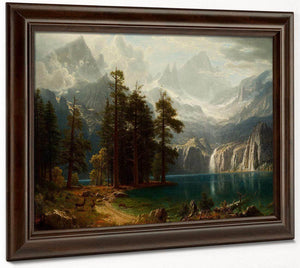 Sierra Nevada 1873 By Albert Bierstadt