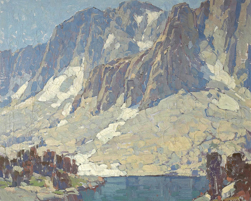 Sierra Slopes (Heart Lake) By Edgar Payne