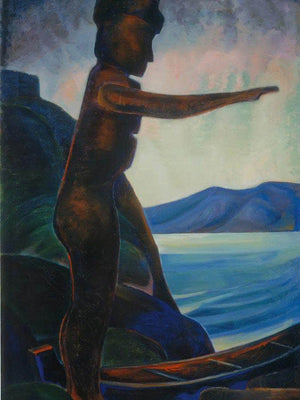 Silhouette No By 2 By Emily Carr