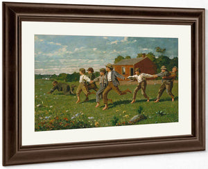Snap The Whip By Winslow Homer