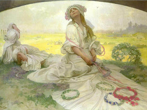 Song Of Bohemia (Our Song) By Alphonse Mucha