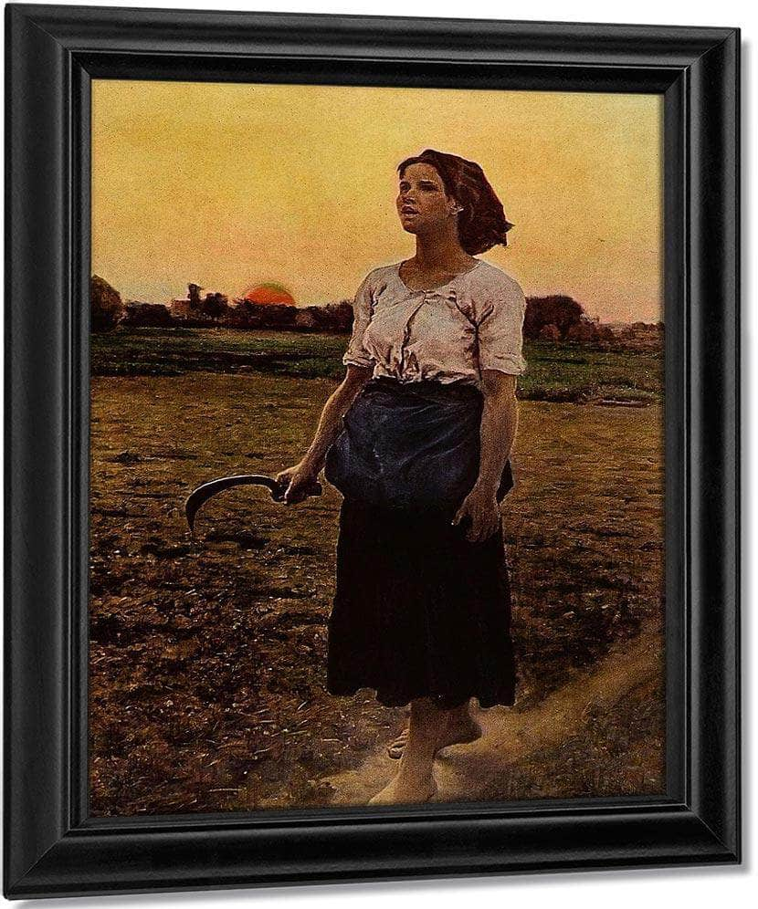 Song Of The Lark By Jules Breton