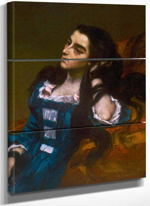 Spanish Woman By Gusave Courbet