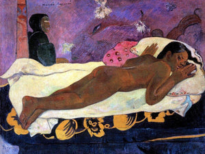 Spirit Of The Dead Watching (Manao Tupapau) By Paul Gauguin