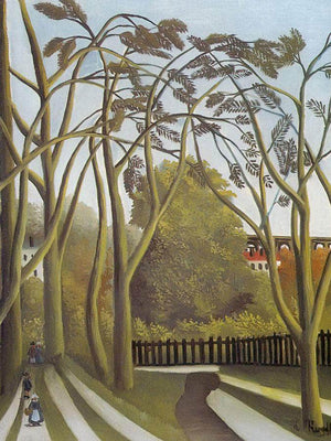 Spring In The Bievre Valley1909 By Henri Rousseau