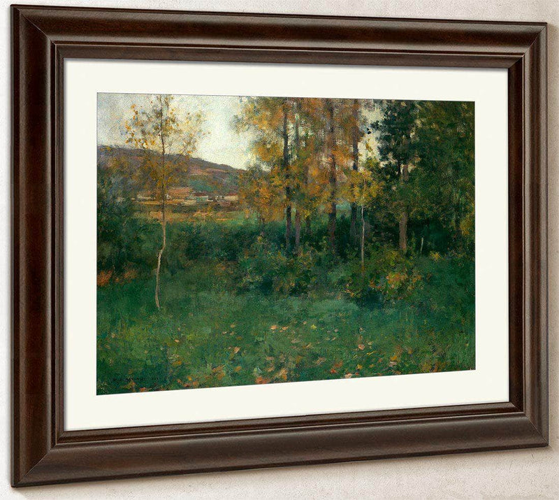 Spring Landscape Giverny By Willard Leroy Metcalf