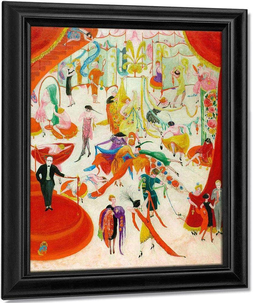 Spring Sale At Bendels By Florine Stettheimer