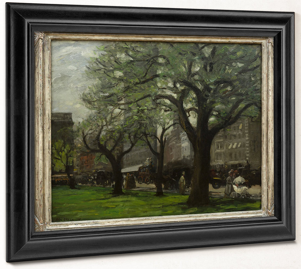 Spring, Madison Square By John Sloan