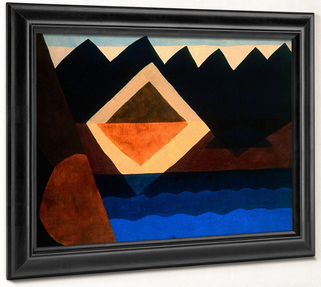 Square On The Pond By Arthur Dove