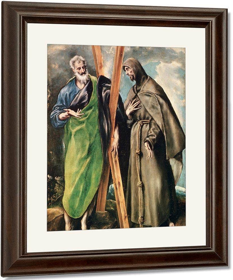 Ss. Andrew And Francis Of Assisi By El Greco