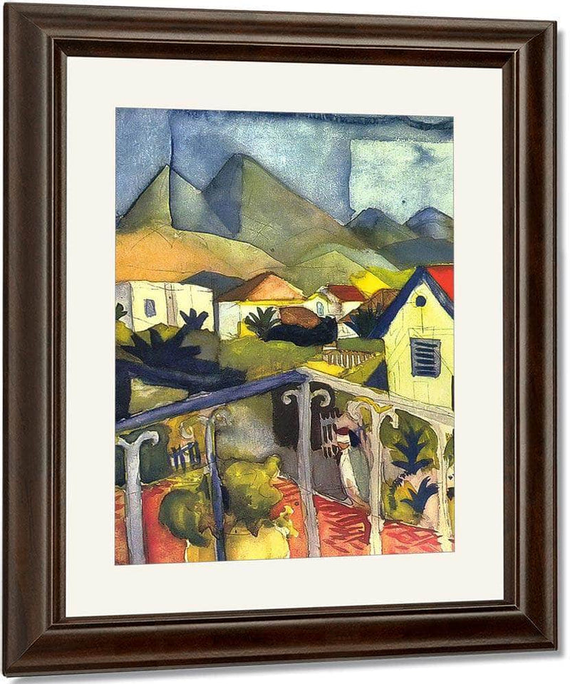 St Germain In Tunis By August Macke