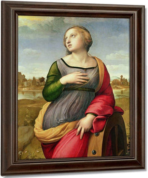 St. Catherine Of Alexandria By Raphael