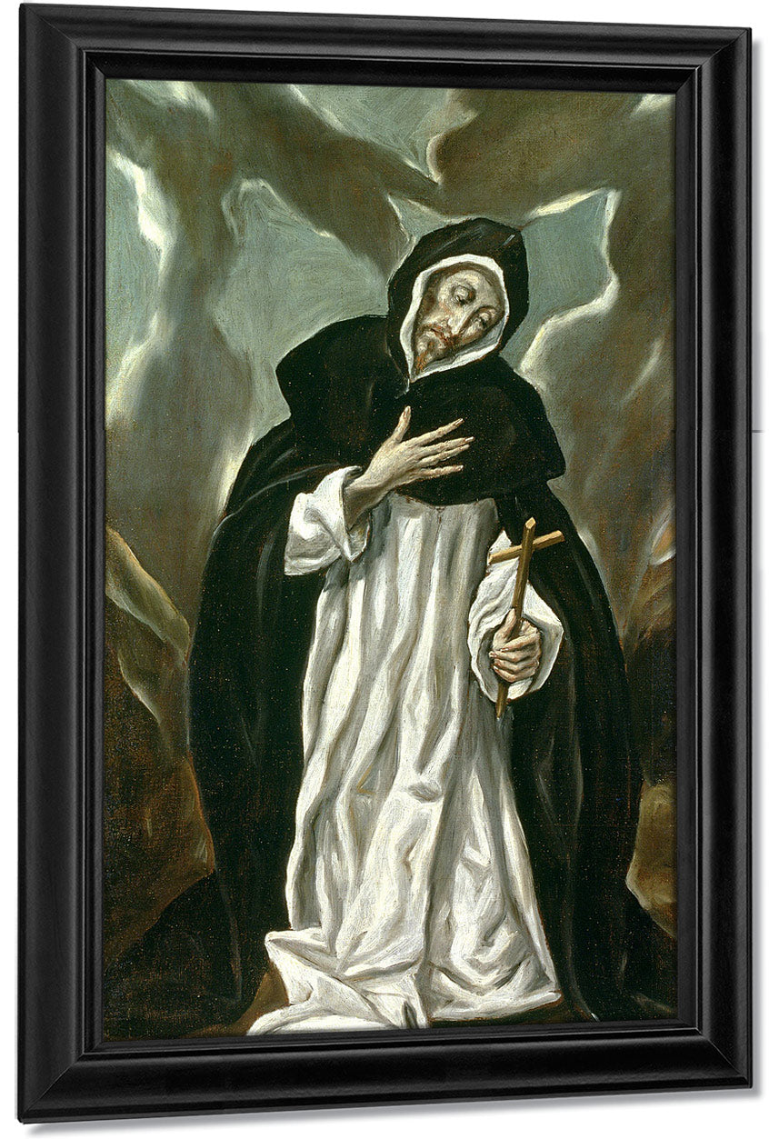 St.Dominic Of Guzman (C.1170 1221) By El Greco