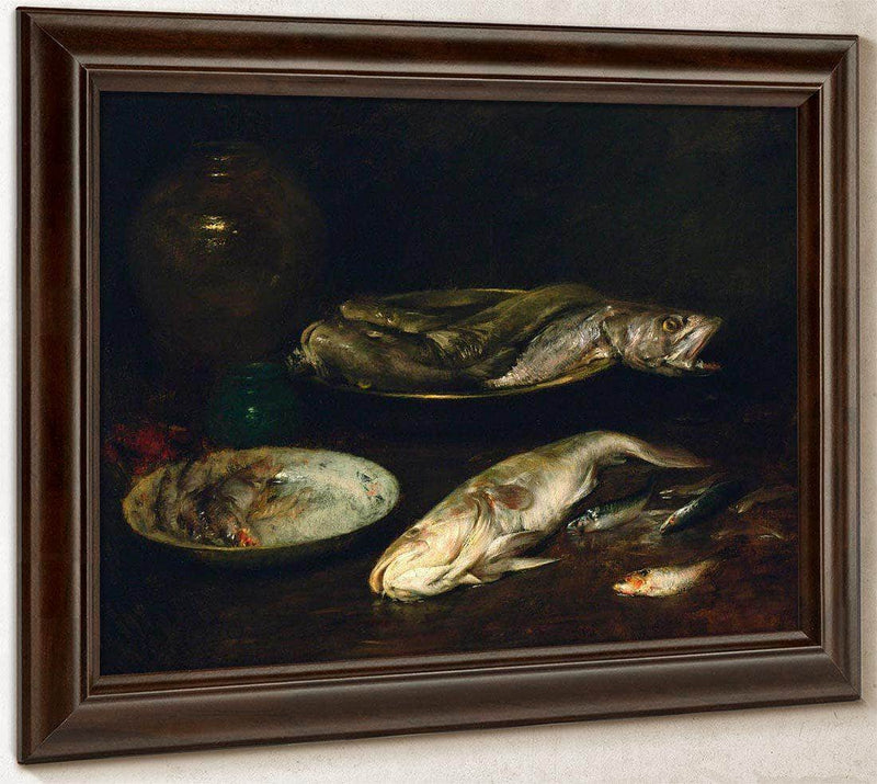Still Life   Fish By Chase William Merritt