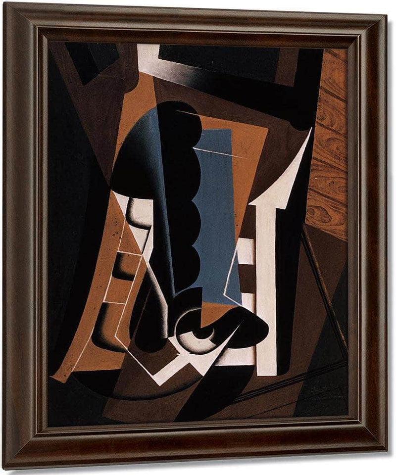 Still Life On A Chair By Juan Gris