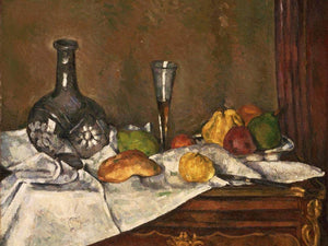 Still Life With A Dessert By Cezanne Paul