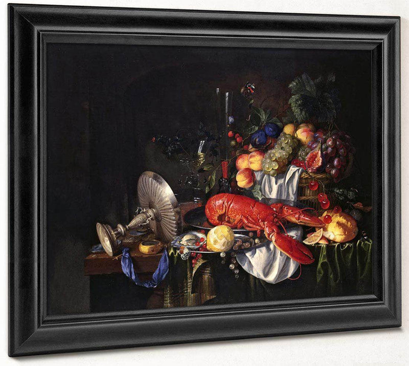 Still Life With A Lobster By Jan Davidsz De Heem