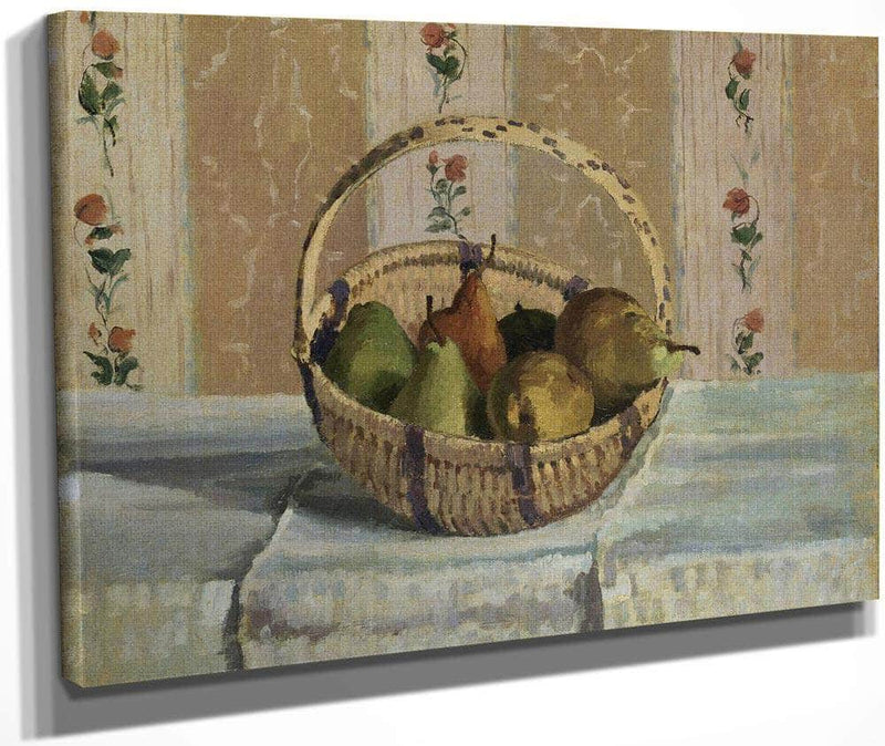 Still Life With Apples And Pears 1872 2 By Camille Pissarro