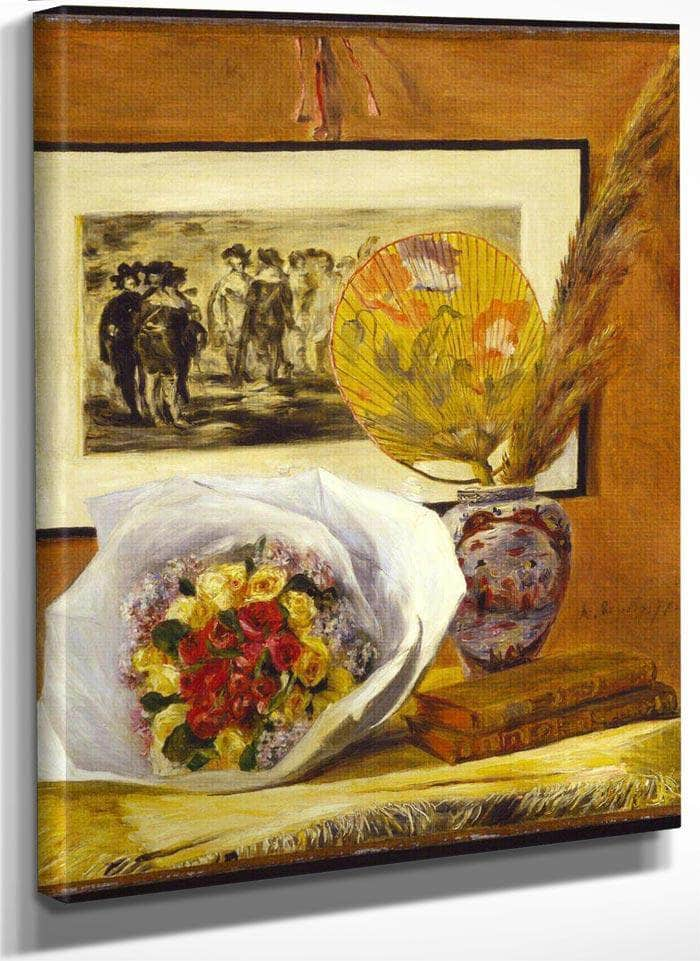 Still Life With Bouquet By Pierre August Renoir