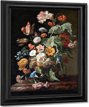 Still Life With Flowers 1700 By Rachel Ruysch