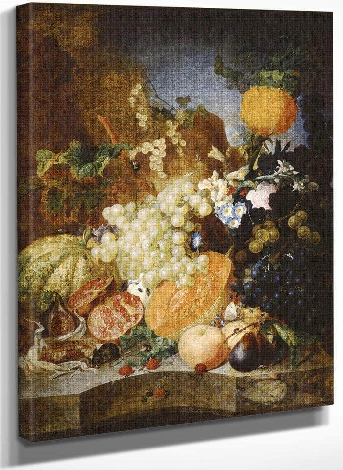 Still Life With Fruit By Jan Van Os