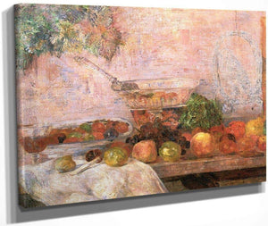 Still Life With Parrot By James Ensor