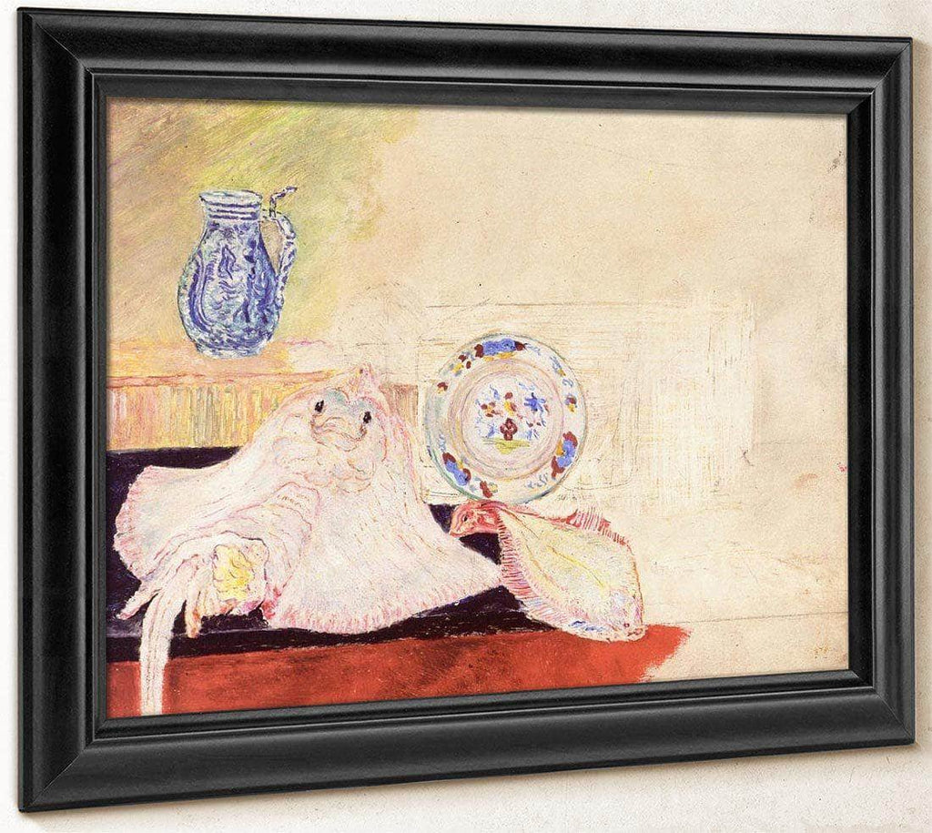 Still Life With Ray By James Ensor