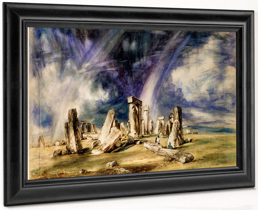 Stonehenge 1835 1 By John Constable