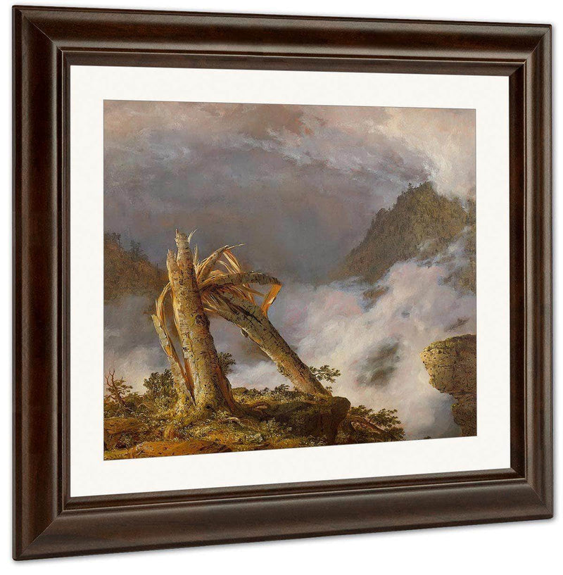 Storm In The Mountains By Fredric Edwin Church By 01