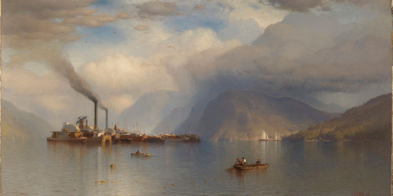 Storm King On The Hudson By Samuel Colman