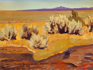 Stream Edge And Sage By Maynard Dixon