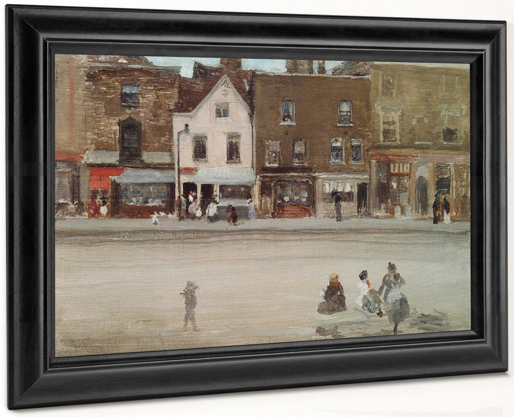 Street In Old Chelsea By  By James Mcneill Whistler