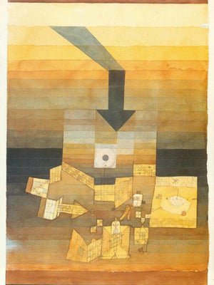 Stricken Place 1922 109 By Paul Klee