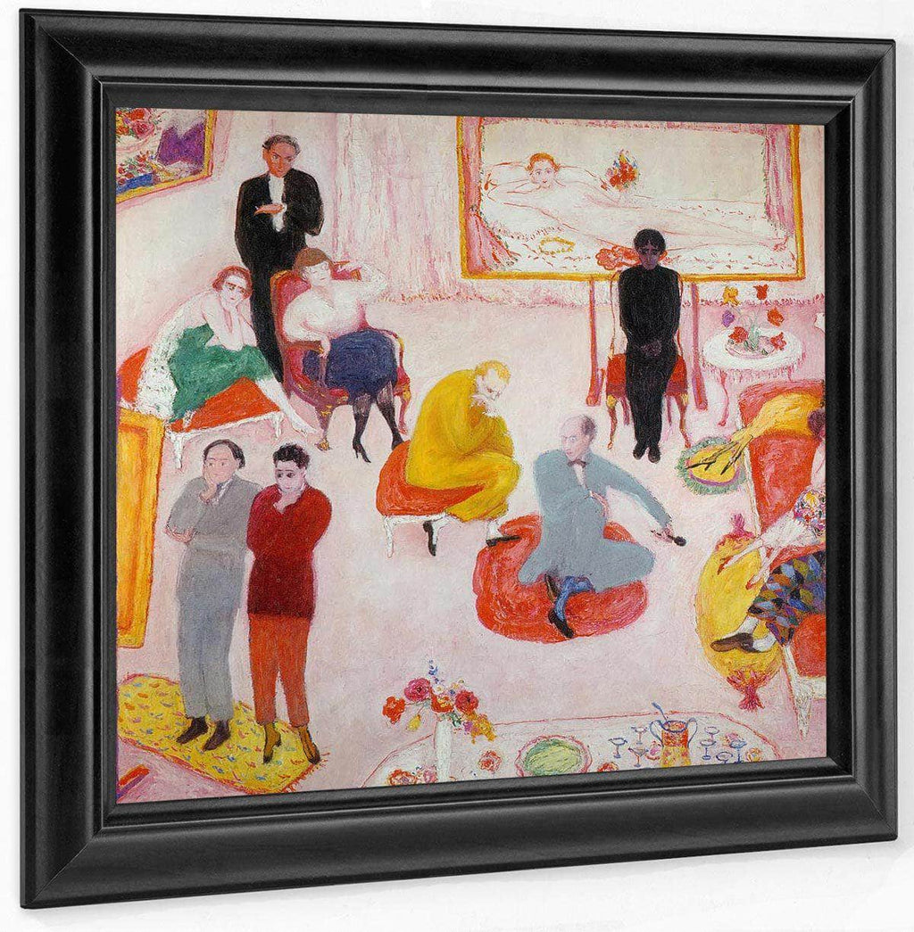 Studio Party (Soiree) By Florine Stettheimer