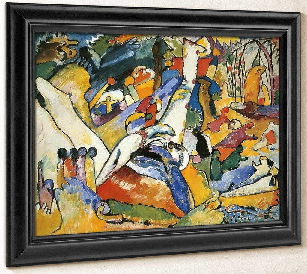 Study For Composition Ii By Wassily Kandinsky