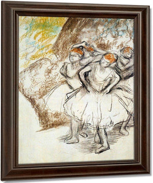Study For Dancers In Pink By Edgar Degas