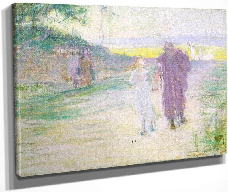 Study For Flight To Egypt By Henry Ossawa Tanner