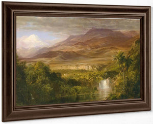 Study For Heart Of The Andes By Frederic Edwin Church