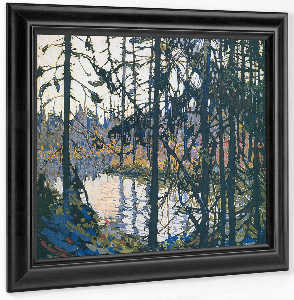 Study For Northern River By Tom Thomson