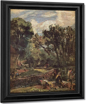 Study For Stratford Mill By John Constable