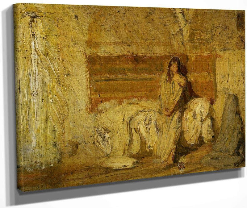 Study For The Annunciation 1898 By Henry Ossawa Tanner