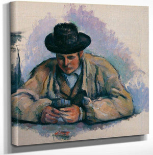 Study For The Card Players By Cezanne Paul