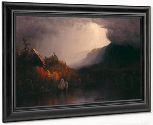 Study Of A Coming Storm On Lake George By Sanford Robinson Gifford