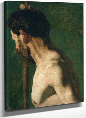 Study Of A Nude Man (The Strong Man) By  Eakins Thomas