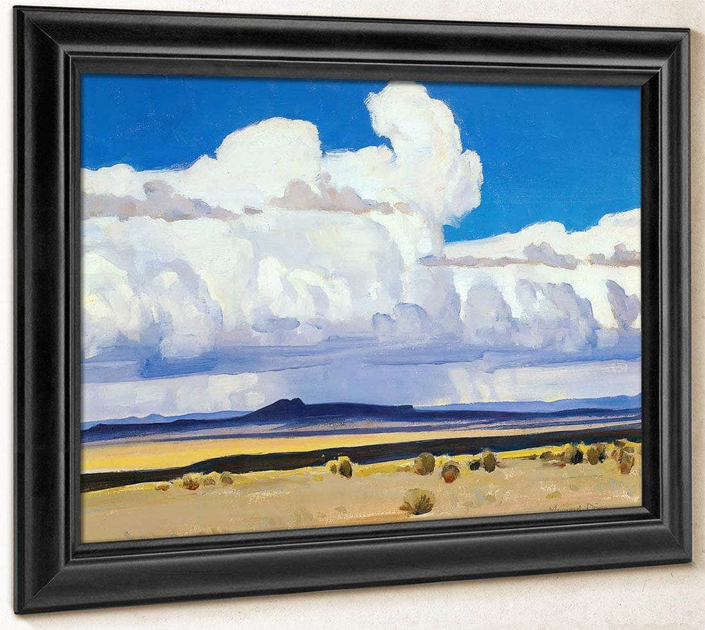 Summer Clouds New Mexico By Maynard Dixon