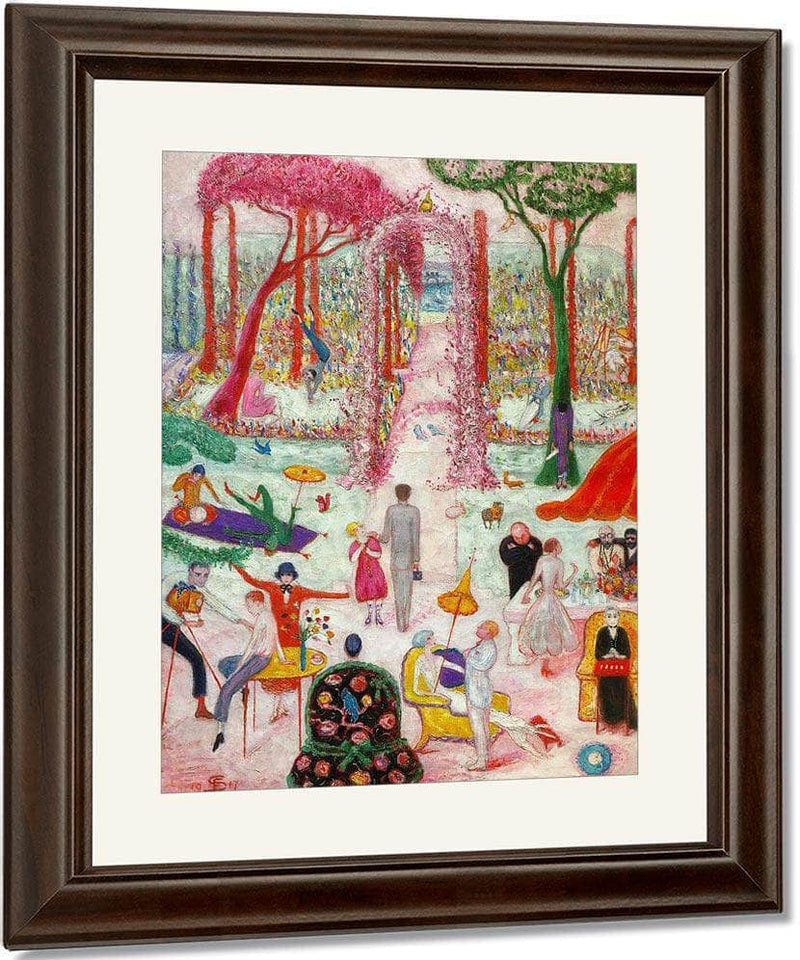 Sunday Afternoon In The Country By Florine Stettheimer