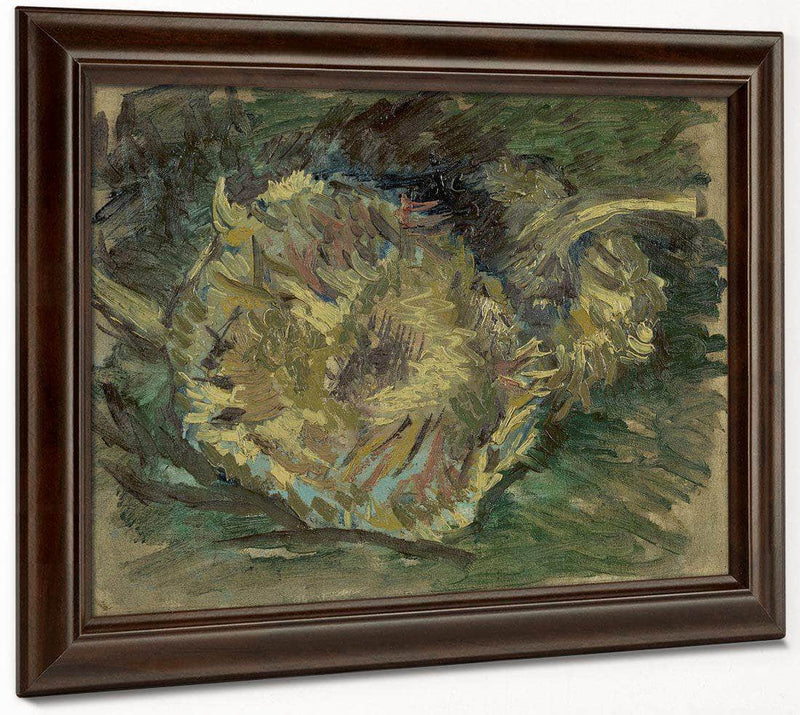 Sunflowers Gone To Seed By Vincent Van Gogh