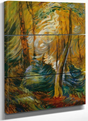 Sunlight In By The By Woods By Emily Carr