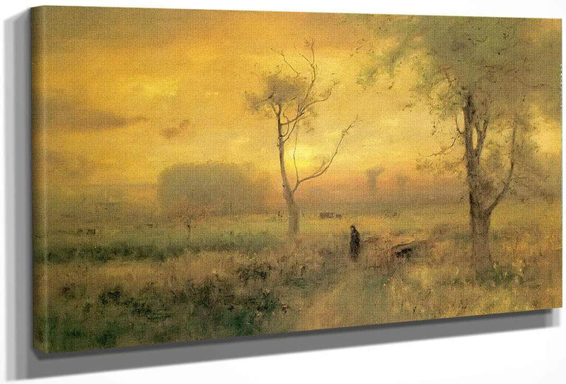 Sunrise 1887 By George Inness